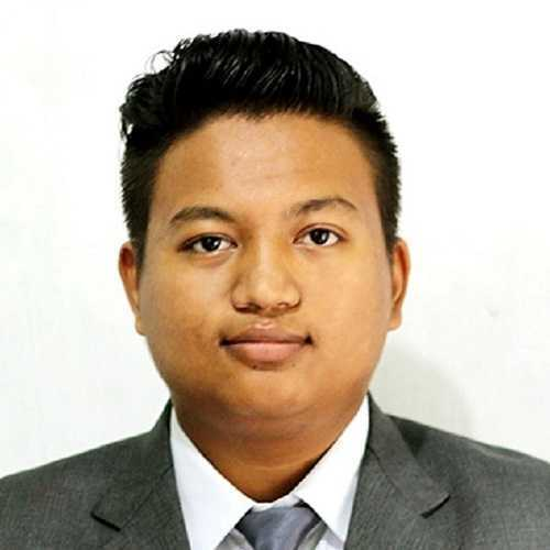 Anish Shrestha as UI/UX Developer of Saviskar Technologies